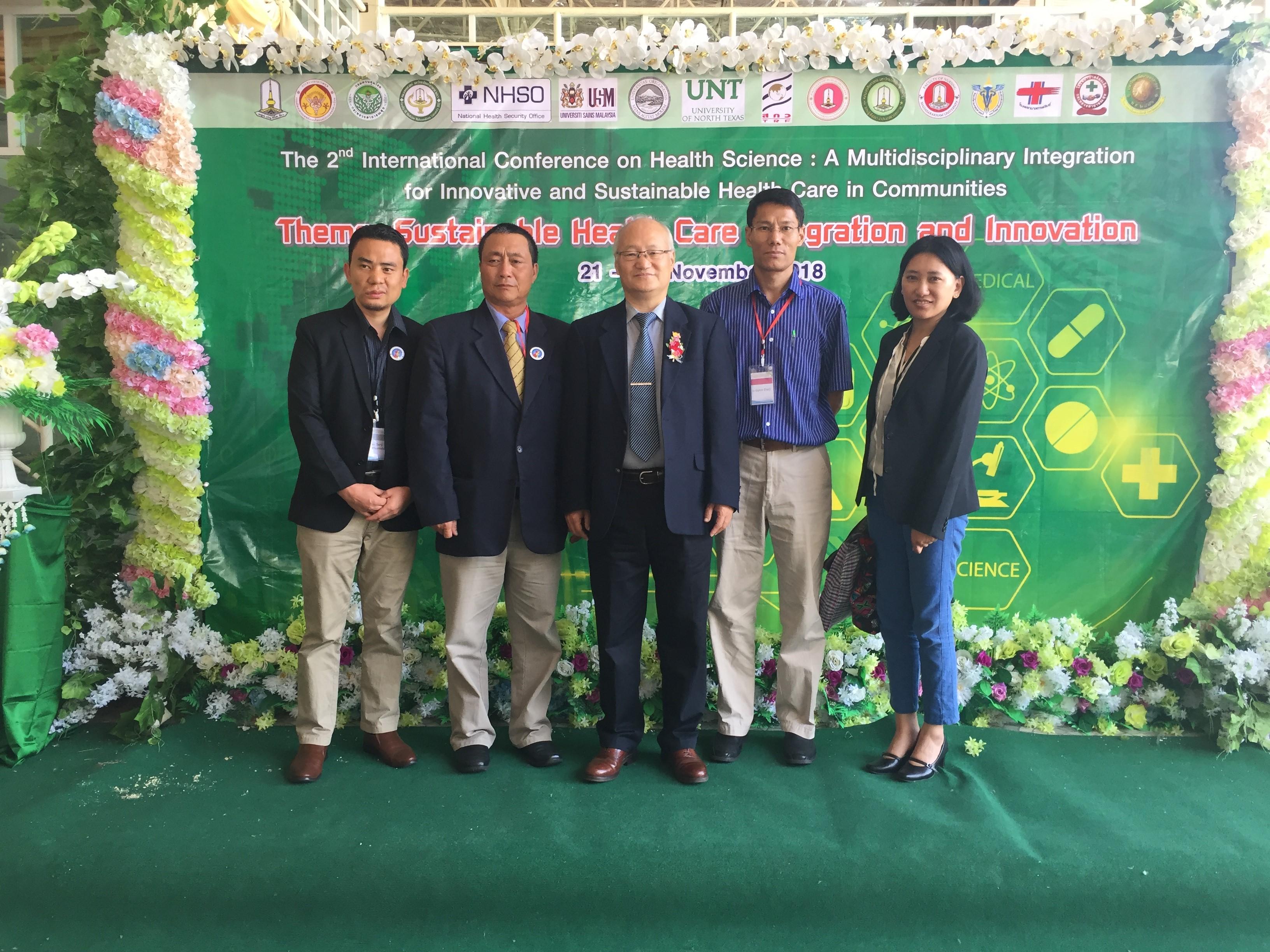 Visit to Mahasarakham University, Thailand