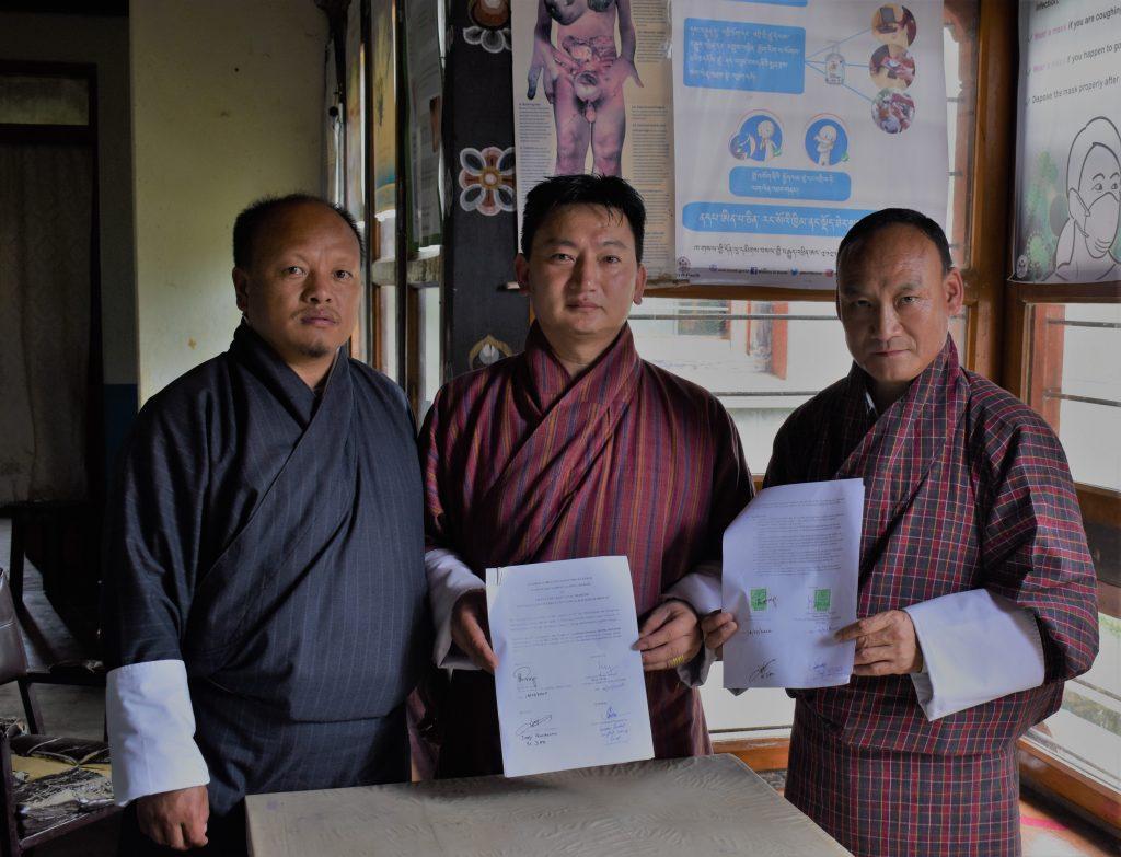 The Signing of Memorandum of Understanding (MOU)